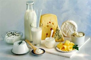 Богатые кальцием молочные продукты