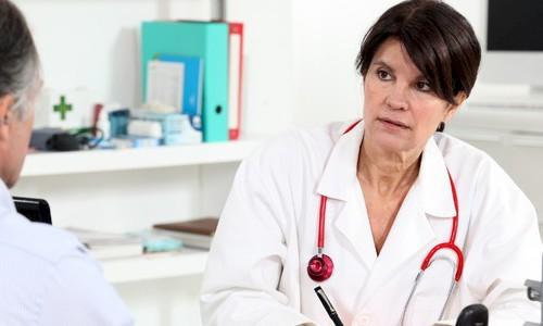 На приеме у врача-ортопеда